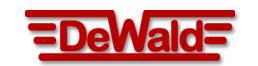 DeWald Machine logo